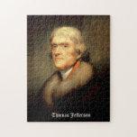 Thomas Jefferson de Rembrandt Peale - circa 1805 Puzzles