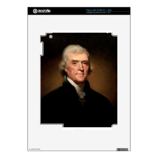 Thomas Jefferson Decal For The iPad 2