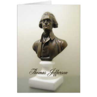Thomas Jefferson Declaration of Independence Card