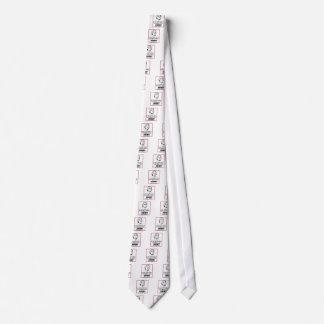 Thomas Jefferson  DISOBEY Neck Tie