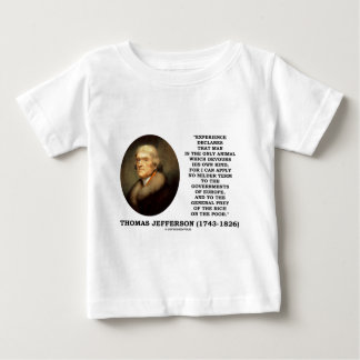 Thomas Jefferson Experience Man Devours Own Kind Baby T-Shirt