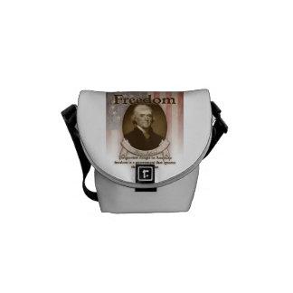 Thomas Jefferson – Freedom Messenger Bags