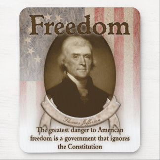 Thomas Jefferson – Freedom Mouse Pad