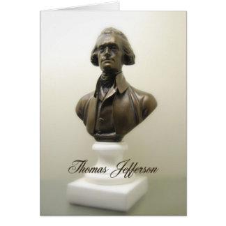 Thomas Jefferson Freedom Quote Greeting Card