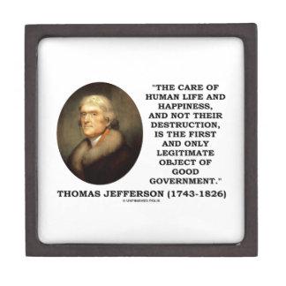 Thomas Jefferson Happiness Object Good Government Gift Box
