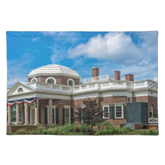 Thomas Jefferson Home at Monticello Placemat