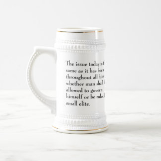 Thomas Jefferson Issue today is the same 18 Oz Beer Stein