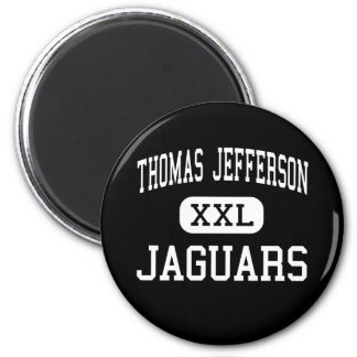Thomas Jefferson - Jaguars - High - Bloomington 2 Inch Round Magnet