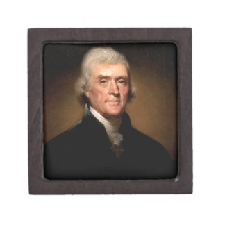 Thomas Jefferson Jewelry Box