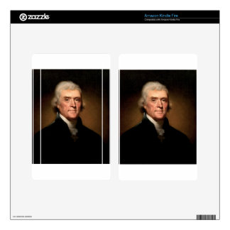 Thomas Jefferson Kindle Fire Decals