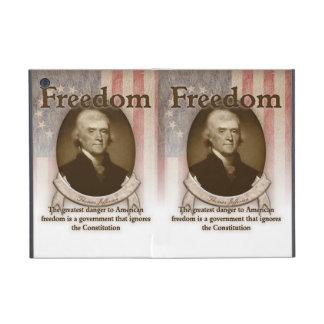 Thomas Jefferson - libertad iPad Mini Cobertura