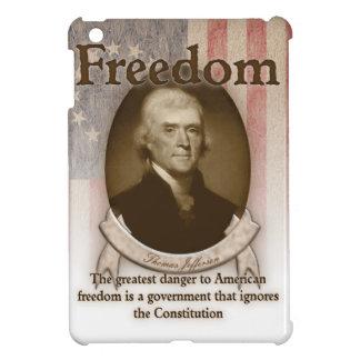 Thomas Jefferson - libertad iPad Mini Protectores