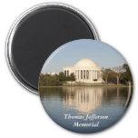Thomas Jefferson Memorial 2 Inch Round Magnet