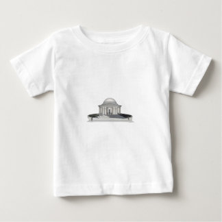 Thomas Jefferson Memorial: 3D Model: Baby T-Shirt