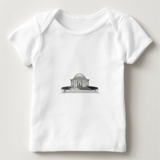 Thomas Jefferson Memorial: 3D Model: Baby T-Shirt