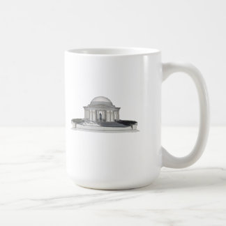 Thomas Jefferson Memorial: 3D Model: Coffee Mug