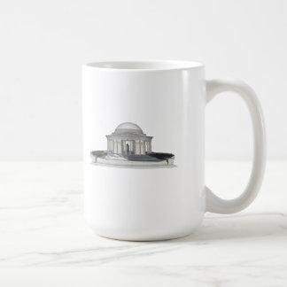 Thomas Jefferson Memorial: 3D Model: Coffee Mug
