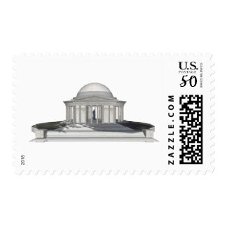 Thomas Jefferson Memorial: 3D Model: Postage