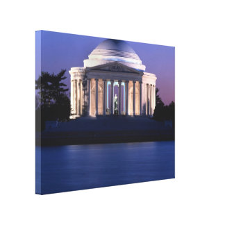 Thomas Jefferson Memorial at Dusk Canvas Print