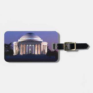 Thomas Jefferson Memorial at Dusk Luggage Tag