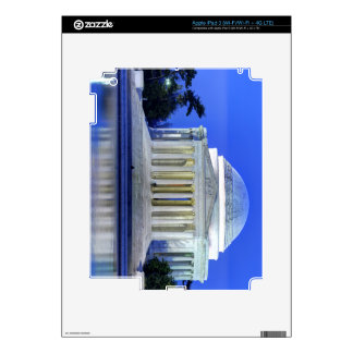 Thomas Jefferson Memorial At Night Decal For iPad 3