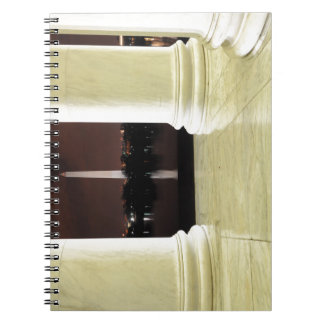 Thomas Jefferson Memorial At Night Notebook
