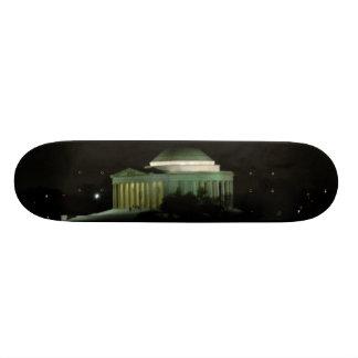 Thomas Jefferson Memorial at Night Custom Skateboard