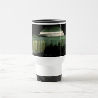 Thomas Jefferson Memorial at Night Travel Mug