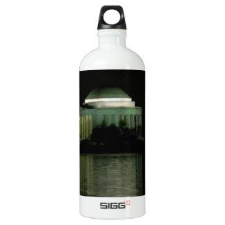 Thomas Jefferson Memorial at Night Water Bottle