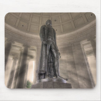 Thomas Jefferson Memorial Bronze Statue Mouse Pad