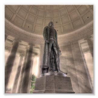 Thomas Jefferson Memorial Bronze Statue Photo Print