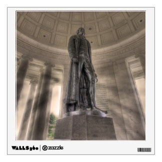 Thomas Jefferson Memorial Bronze Statue Wall Graphics