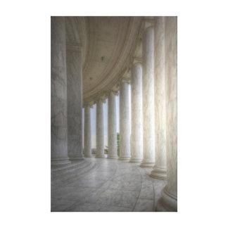 Thomas Jefferson Memorial Circular Colonnade Canvas Print