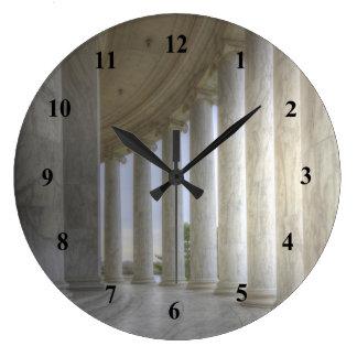 Thomas Jefferson Memorial Circular Colonnade Large Clock