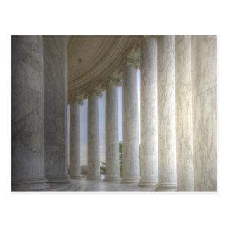 Thomas Jefferson Memorial Circular Colonnade Postcard