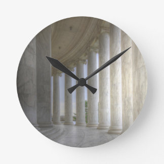 Thomas Jefferson Memorial Circular Colonnade Round Clock