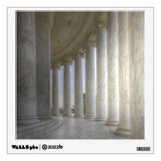 Thomas Jefferson Memorial Circular Colonnade Wall Graphic