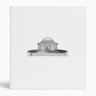 Thomas Jefferson Memorial: Custom Binder