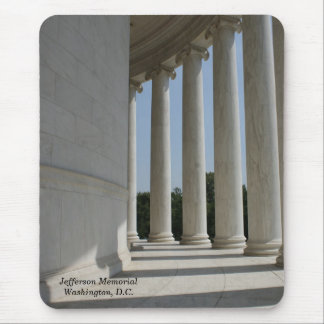 Thomas Jefferson Memorial pillars mousepad