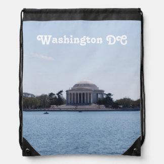 Thomas Jefferson Memorial Cinch Bag
