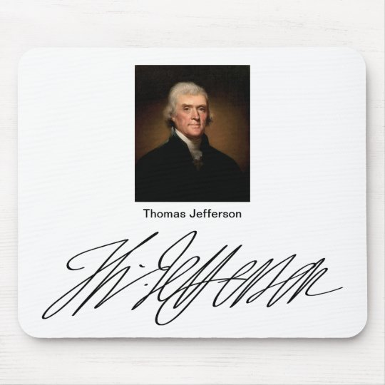 Thomas Jefferson Mouse Pad