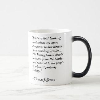 Thomas Jefferson No Federal Reserve Quote Mug