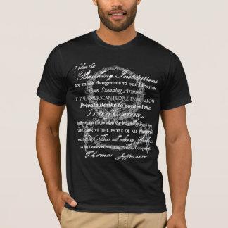 Thomas Jefferson on Banks T-Shirt