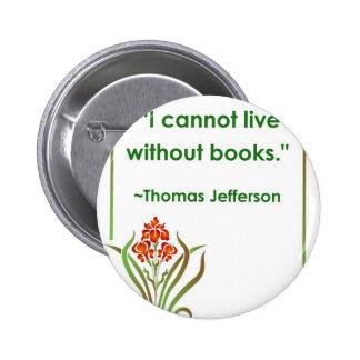 Thomas Jefferson on Books Button