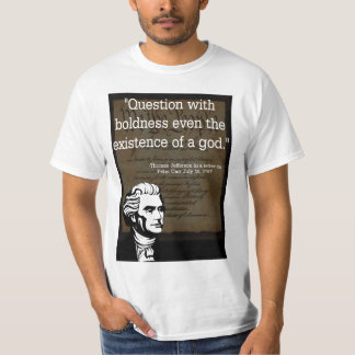 Thomas Jefferson On Religion In Government T Shirt