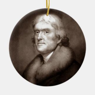 Thomas Jefferson Ornament