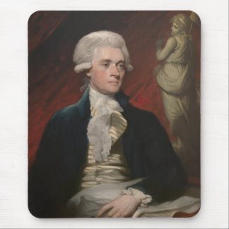 Thomas Jefferson Painting Mouse Pad