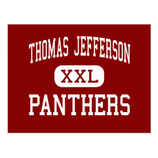 Thomas Jefferson - Panthers - Menomonee Falls Postcard