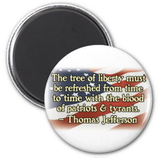 Thomas Jefferson Patriots and Tyrants Magnets
