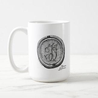 Thomas Jefferson personal seal - Mug